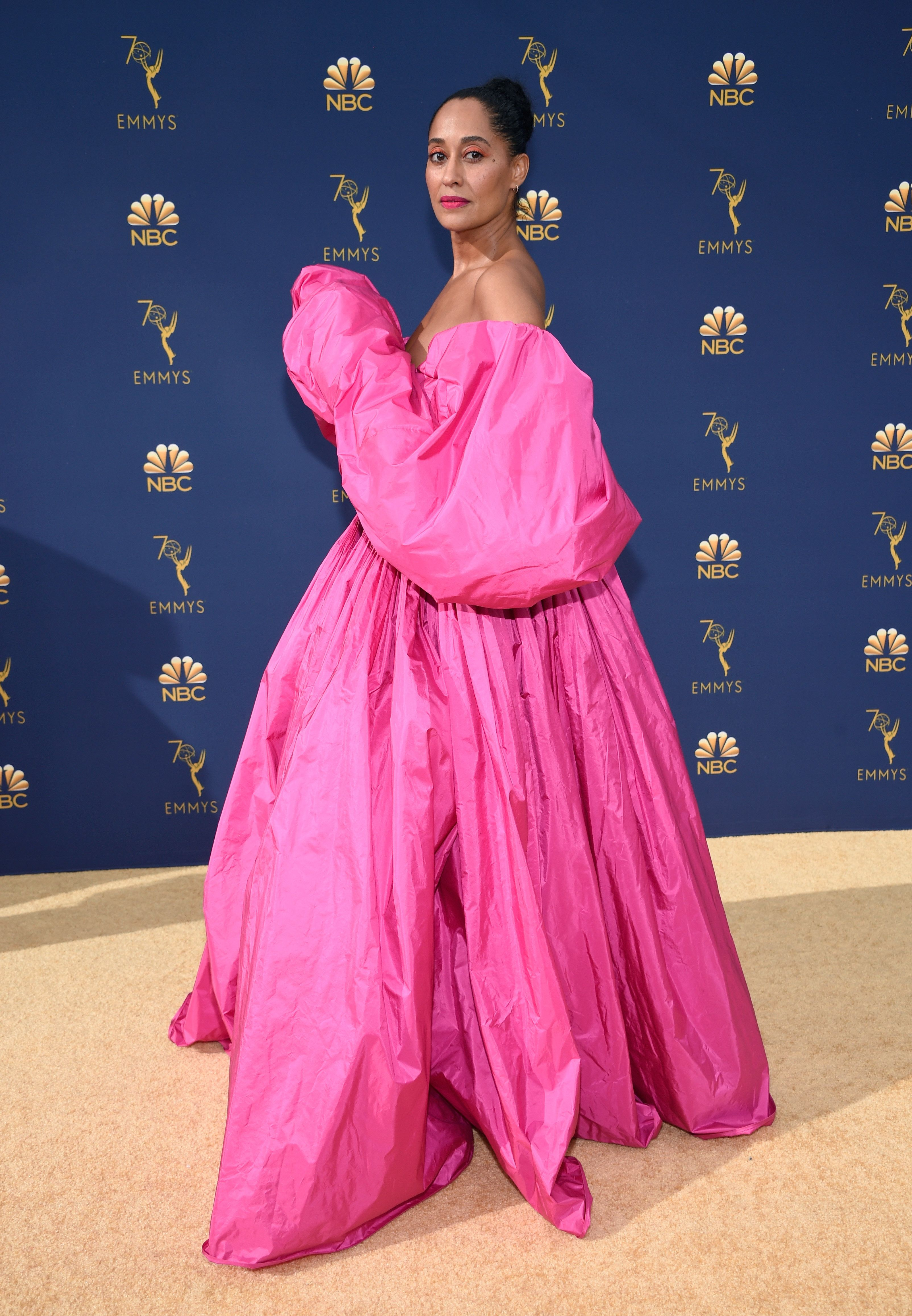 Tracee Ellis Ross Slayed The Most Over-The-Top Look At The 2018 Emmy