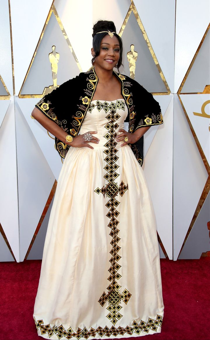 Haddish at the 2018 Oscars.