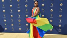 Tiffany Haddish Is A Rainbow Vision On The 2018 Emmys Red Carpet