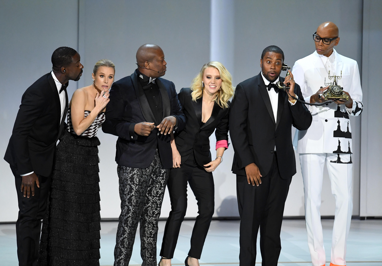 Kristen Bell, Kate McKinnon And John Legend Open Emmys With Diversity