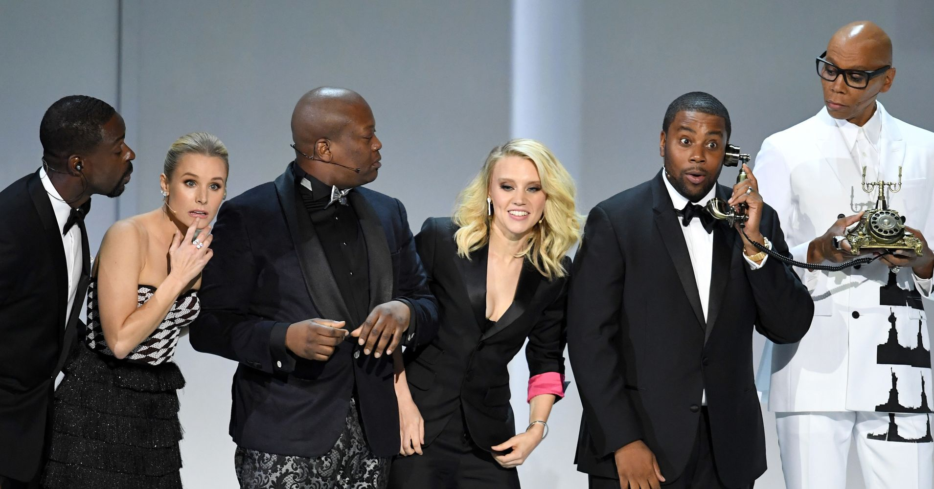 Kristen Bell, Kate McKinnon And John Legend Open Emmys With Diversity Musical