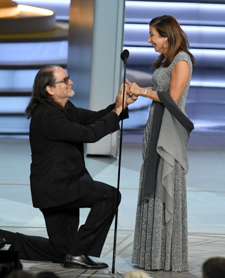 Director Glenn Weiss Proposes To Girlfriend Jan Svendsen At 2018 Emmy Awards