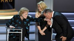 Betty White Flirts With Alec Baldwin In Surprise Emmy Awards