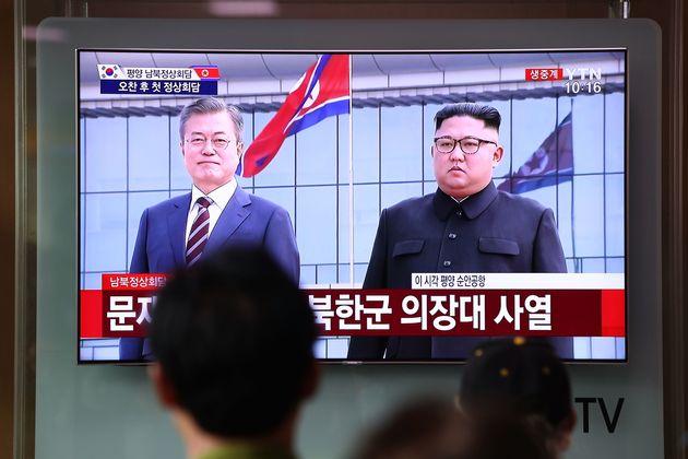 [남북정상회담] 문재인 대통령이 평양 순안공항에