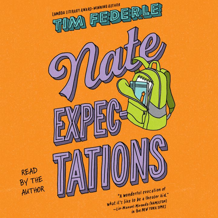 Tim Federle's<i> Nate Expectations</i> and accompanying audiobook hit retailers Sept. 18.