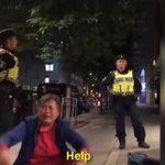 스웨덴 경찰이 호텔에서 중국인 관광객을 쫓아낸 사건의
