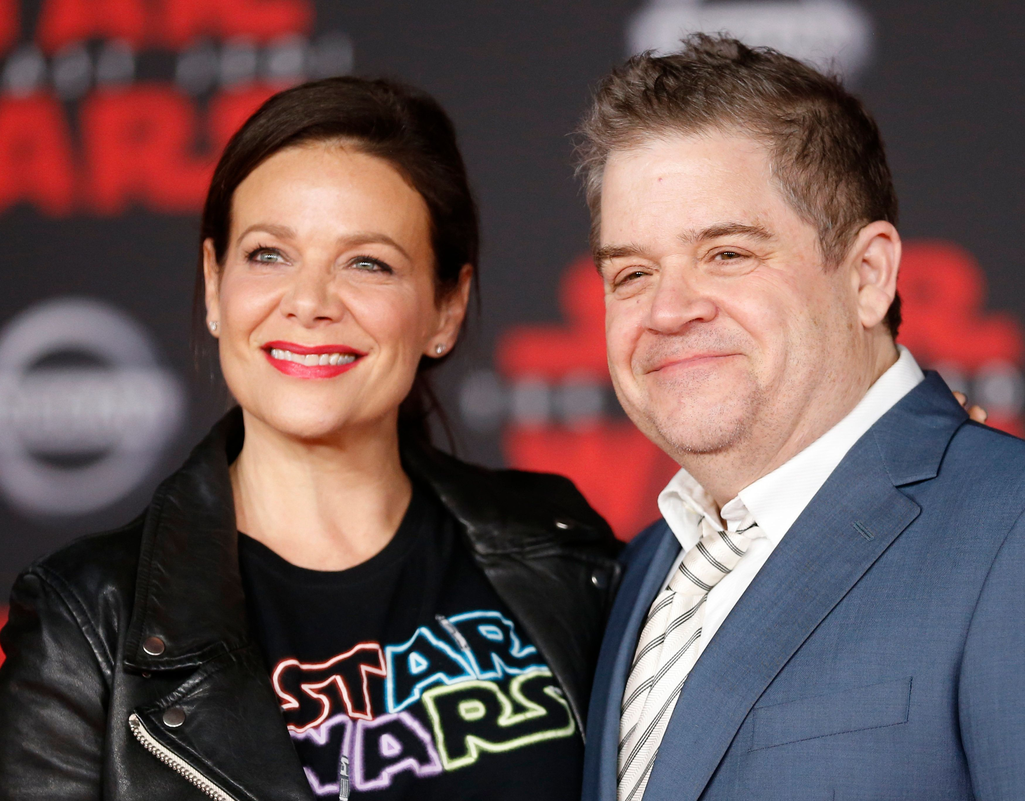 Patton Oswalt Shares Sweetest Emmy Photo Tribute To Wife Meredith