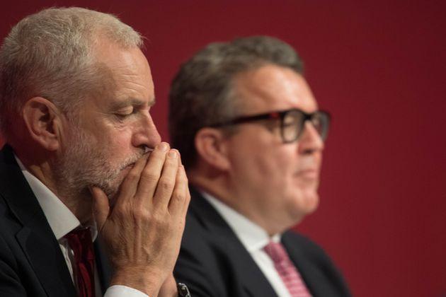 Jeremy Corbyn and deputy leader Tom