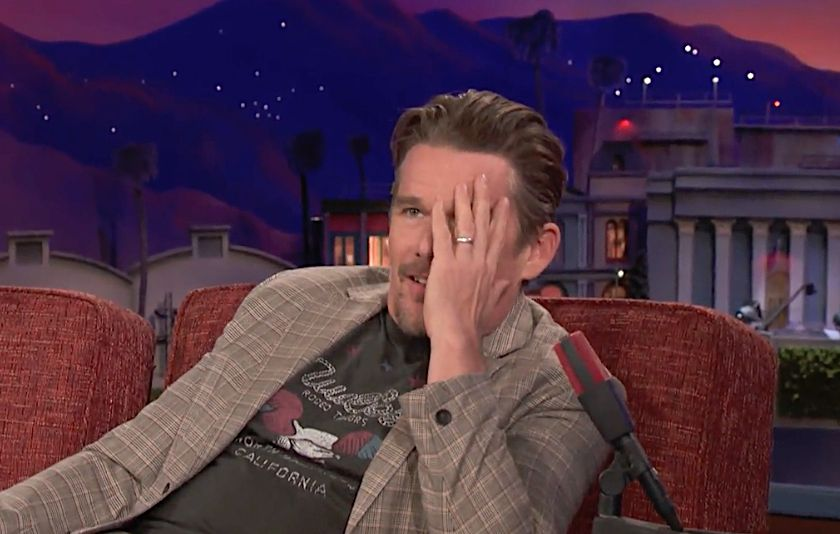The Cringeworthy Way Ethan Hawke Turned Down 'Independence