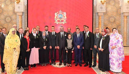 Voici les professeurs et cadres de l'enseignement décorés par le roi Mohammed