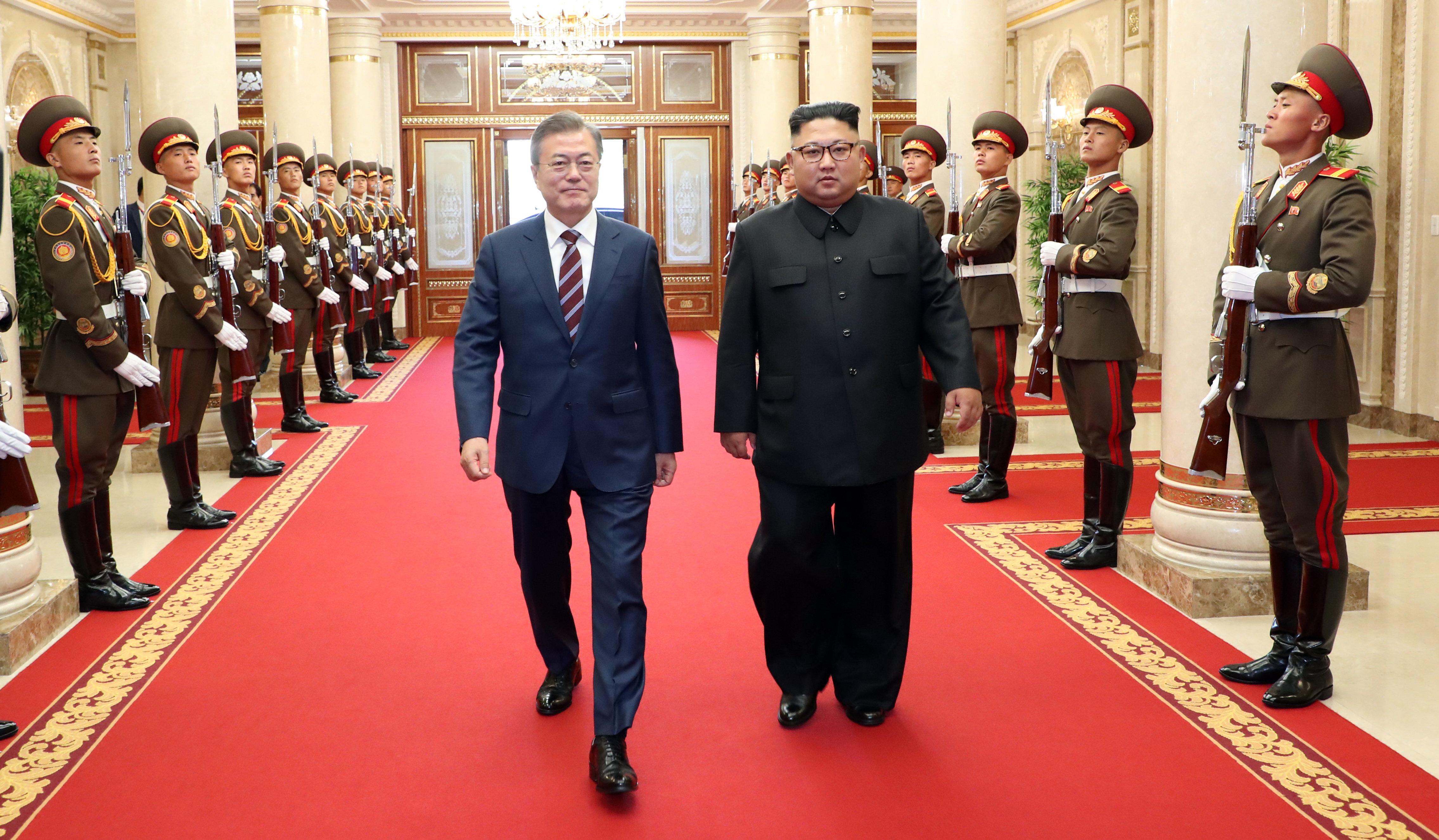 [남북정상회담] 김정은 위원장,