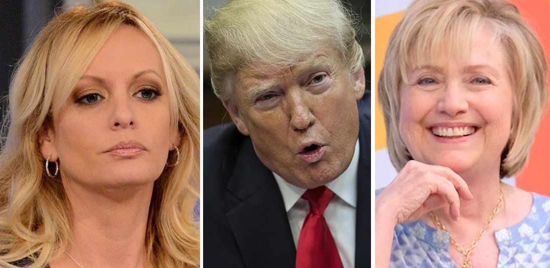 Stormy Daniels Claims Hillary Clinton Called Trump, They Talked About 'Our Plan'