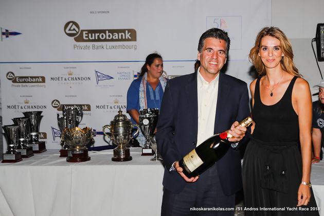Ο 51ος Διεθνής Ιστιοπλοϊκός Αγώνας Άνδρου εντυπωσίασε ιστιοπλόους και