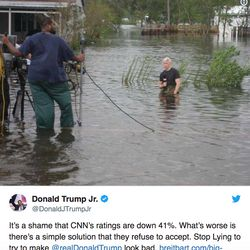 Anderson Cooper Shreds 'Idiotic' Don Jr. Over Phony Florence