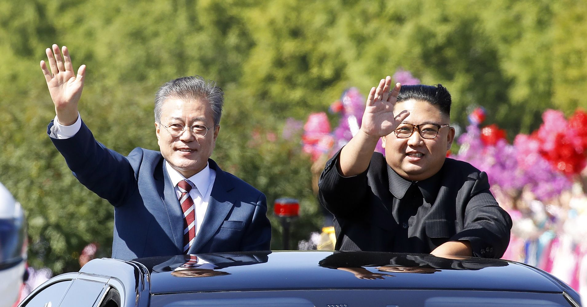 Korean Leaders Meet In Pyongyang For A Potentially Tough Summit | HuffPost