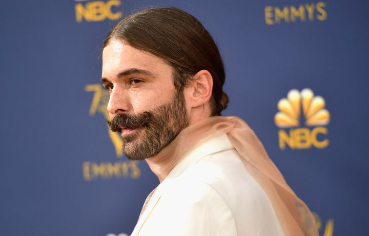 Jonathan Van Ness at the 70th Emmy Awards on Sept. 17 in Los Angeles.
