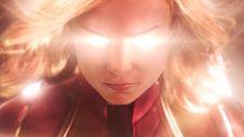 'Captain Marvel' Trailer Unleashes Brie Larson's Superhero Movie Moment