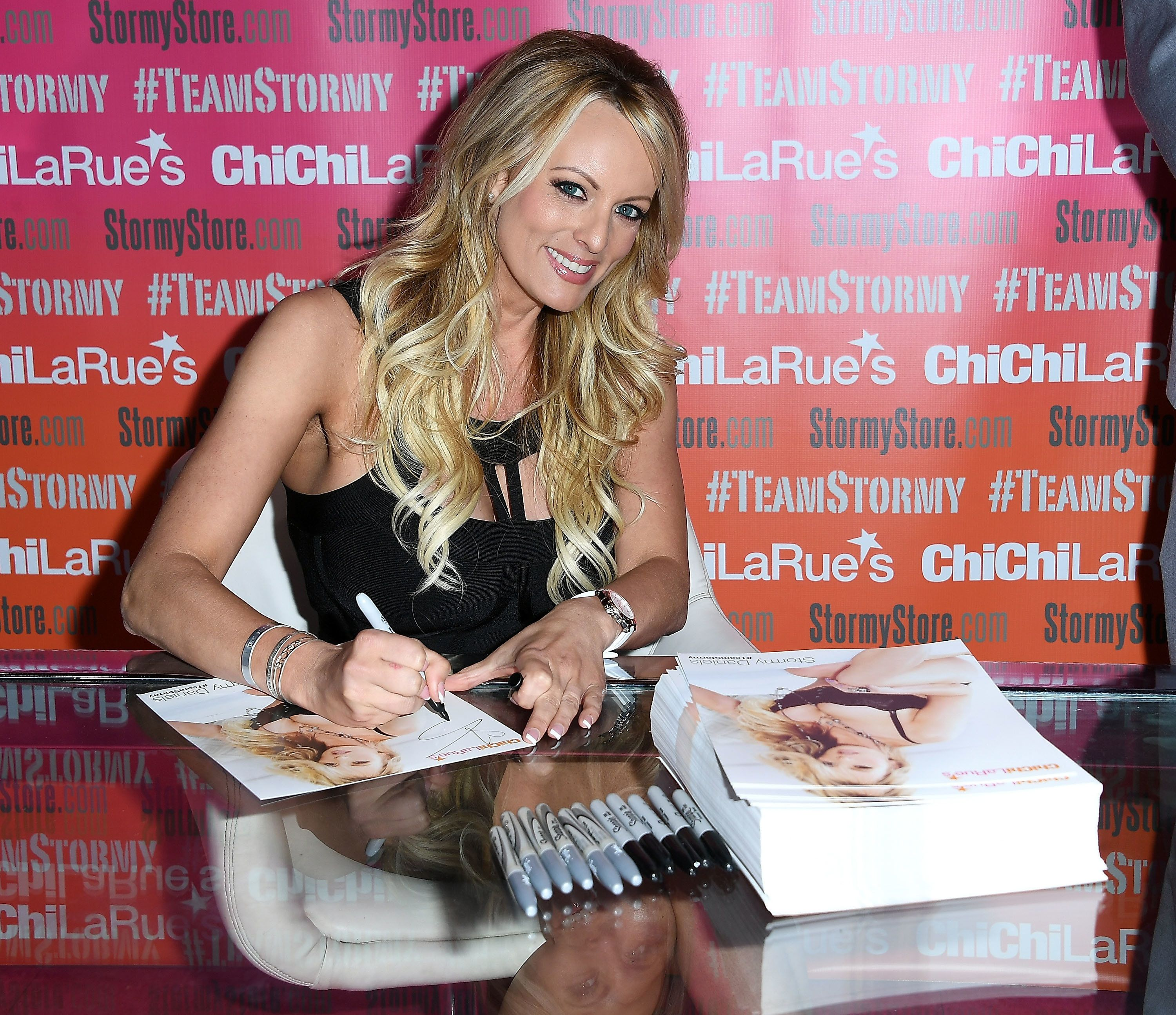Risque parts of adult-film star Stormy Daniels' book leaked