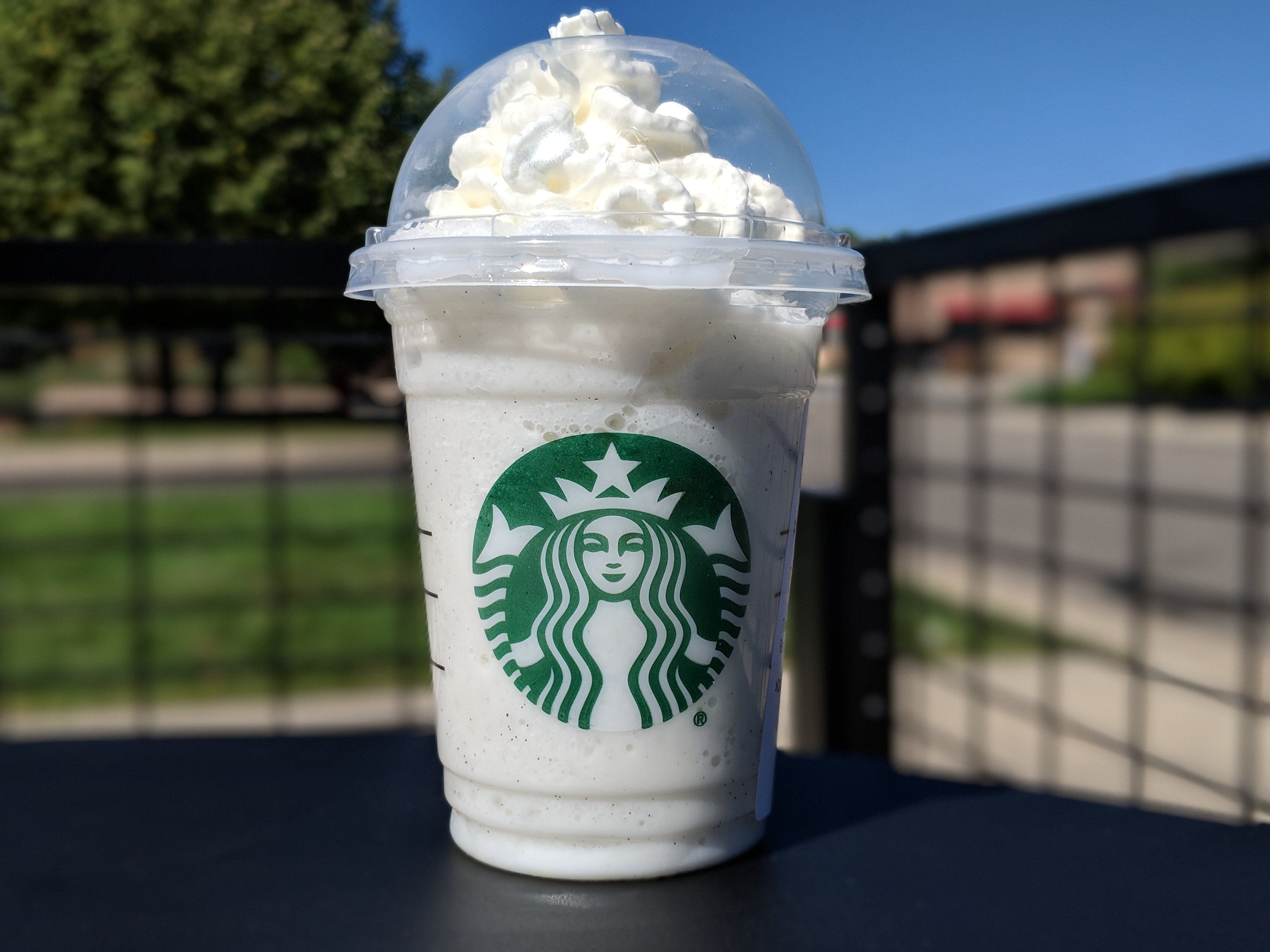 This Cotton Candy Frappuccino is indeed available if you think to ask for it.