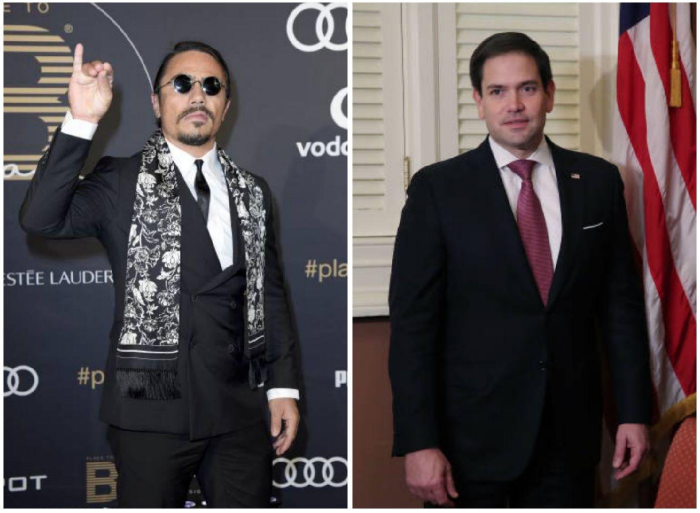 Marco Rubio Goes Off On Salt Bae For Serving Venezuela's Maduro