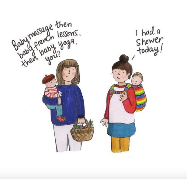 Mum's Illustrations Perfectly Capture The 'Crazy Parenting