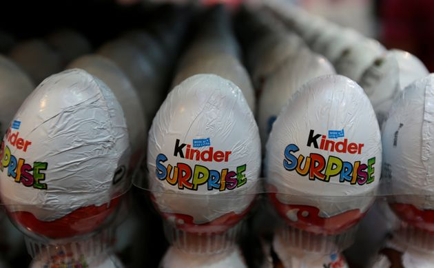 Kinder chocolate eggs