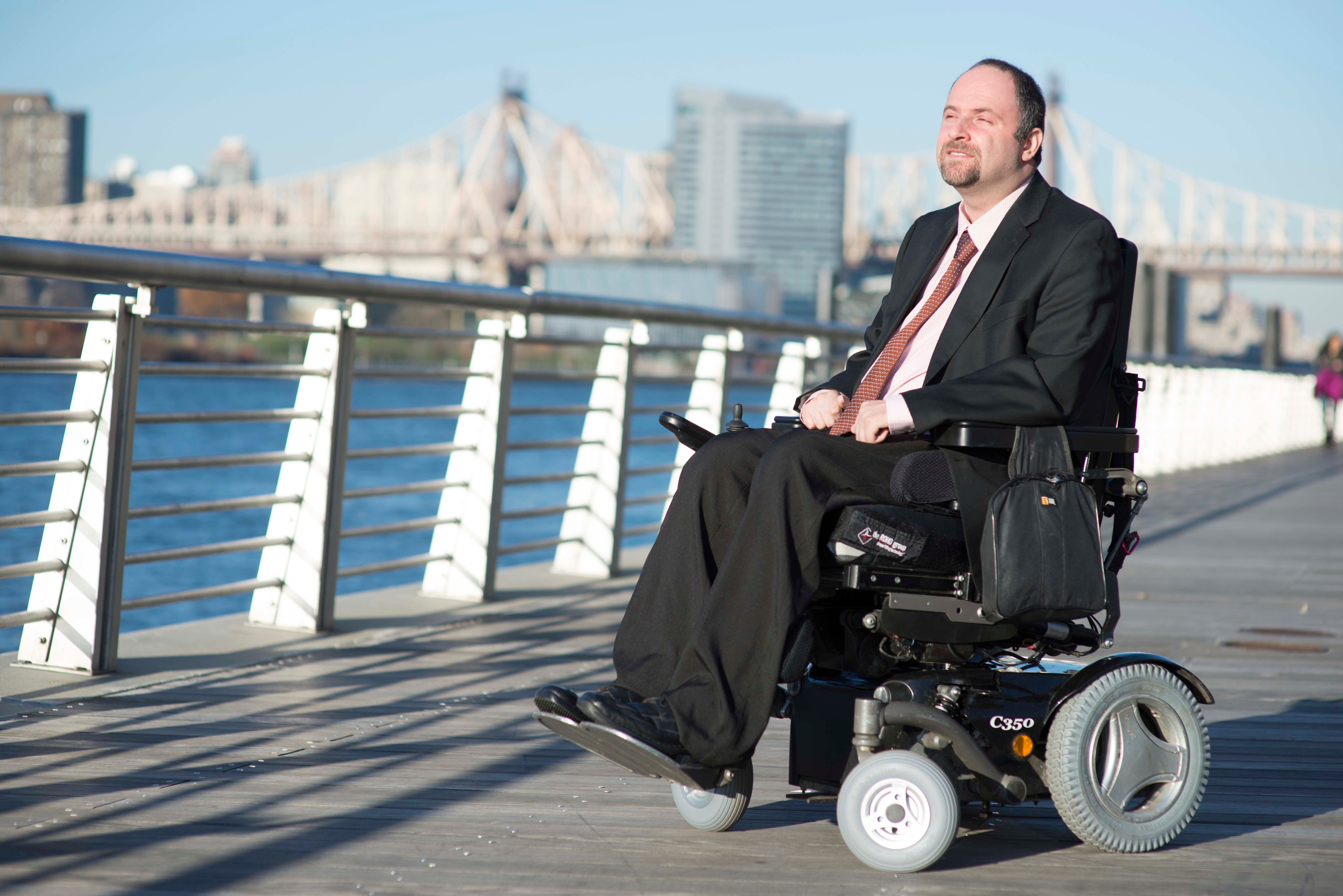 Alex Elegudin is tasked with making the New York City subway work better for people with disabilities