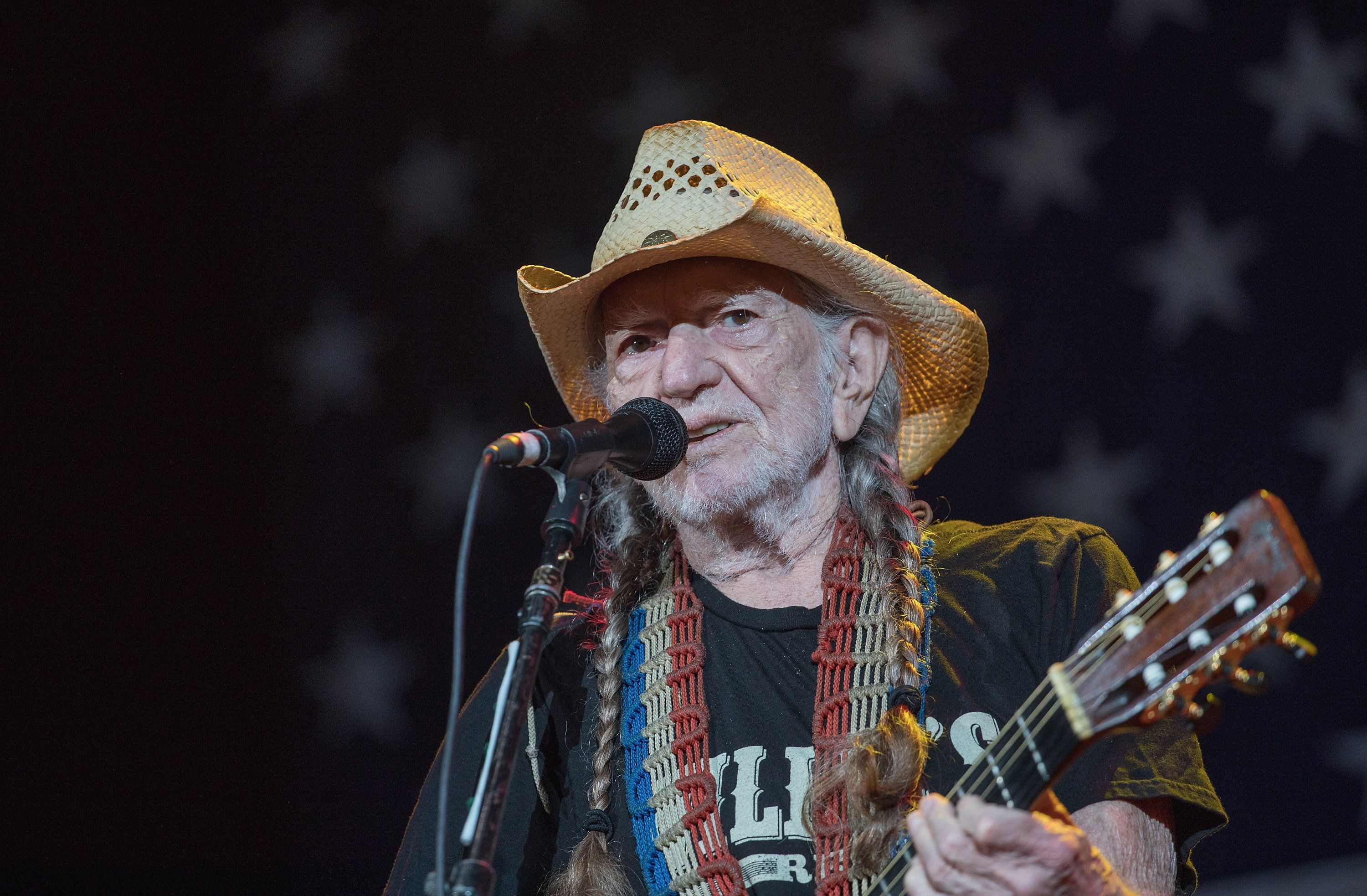 AUSTIN, TX - JULY 04:  SInger-songwriter Willie Nelson performs onstage with Willie Nelson and Family during the 45th Annual Willie Nelson 4th of July Picnic at Austin360 Amphitheater on July 4, 2018 in Austin, Texas.  (Photo by Rick Kern/WireImage)