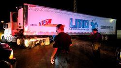 멕시코에서 157구의 시신을 실은 트럭이 돌아다닌