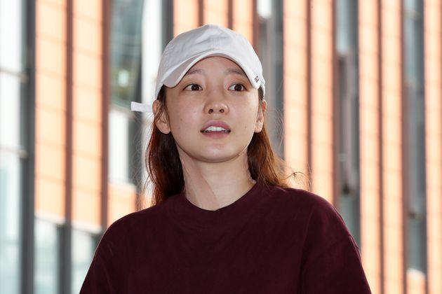 구하라가 남자친구와의 '폭행 시비'에 대해 심경을
