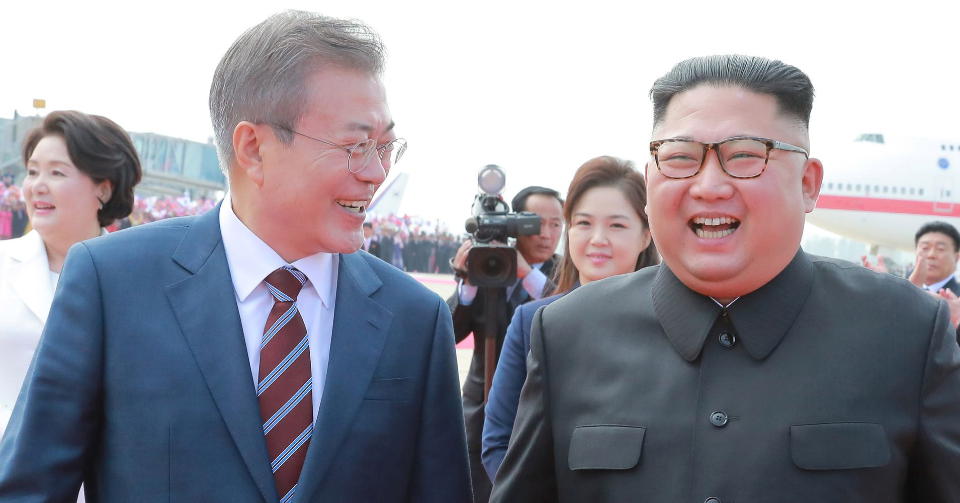 Kim Jong Un Will Visit Seoul In 'Near Future,' Vows To Dismantle Missile Site | HuffPost