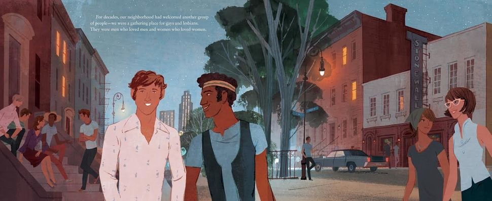 Featuring illustrations by Jamey Christoph, the book tells the Stonewall story from the perspective of the inn itself.