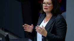 SPD-Revolte wegen Maaßen-Kompromiss: Nahles gerät unter
