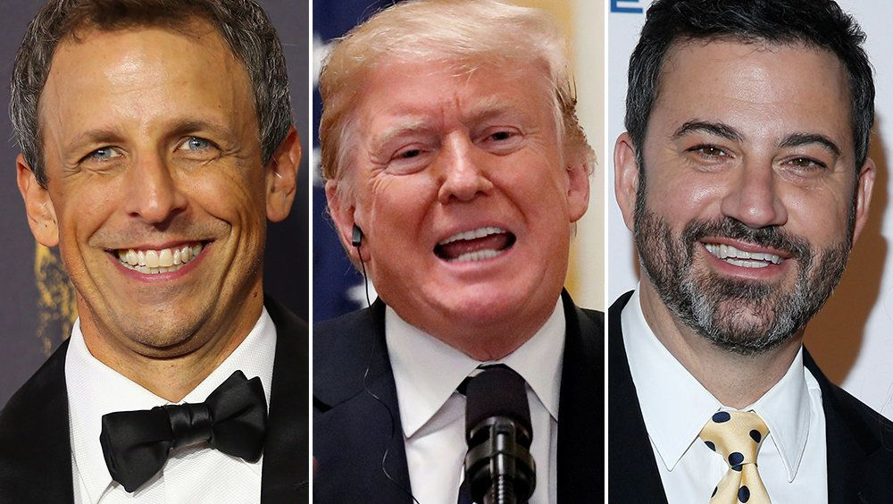 Late-Night TV Hosts Had Trump's Penis On Their