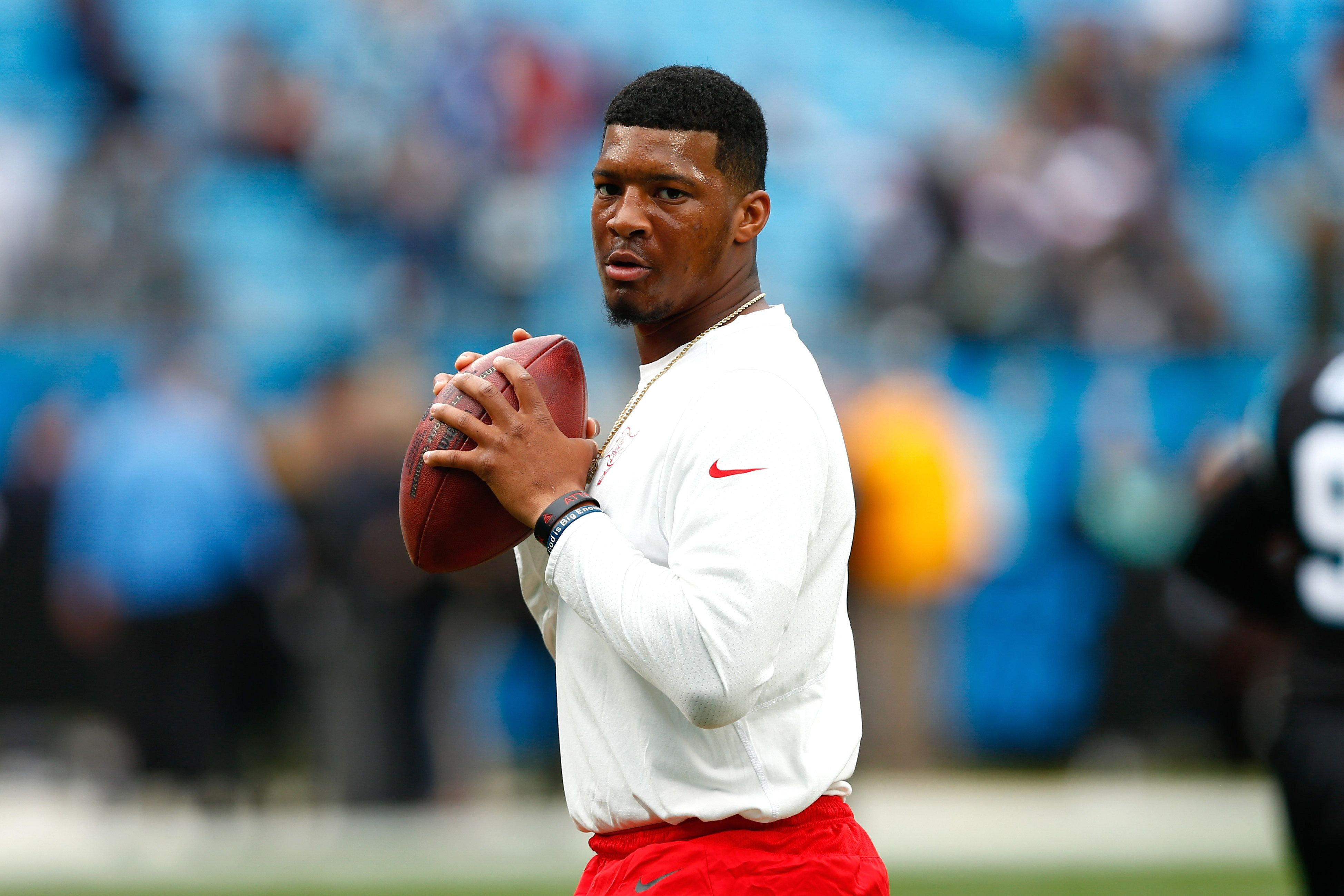 Tampa Bay Buccaneers quarterback Jameis Winston was suspended by the NFL over the alleged groping incident. He's now facing a