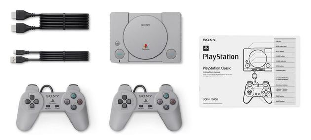 Sony va sortir la Playstation Classic, version miniature de sa première console