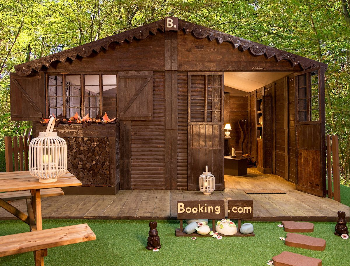 SWEET DIGS: A House Made Of Chocolate You Can Actually Stay In? We Have So Many