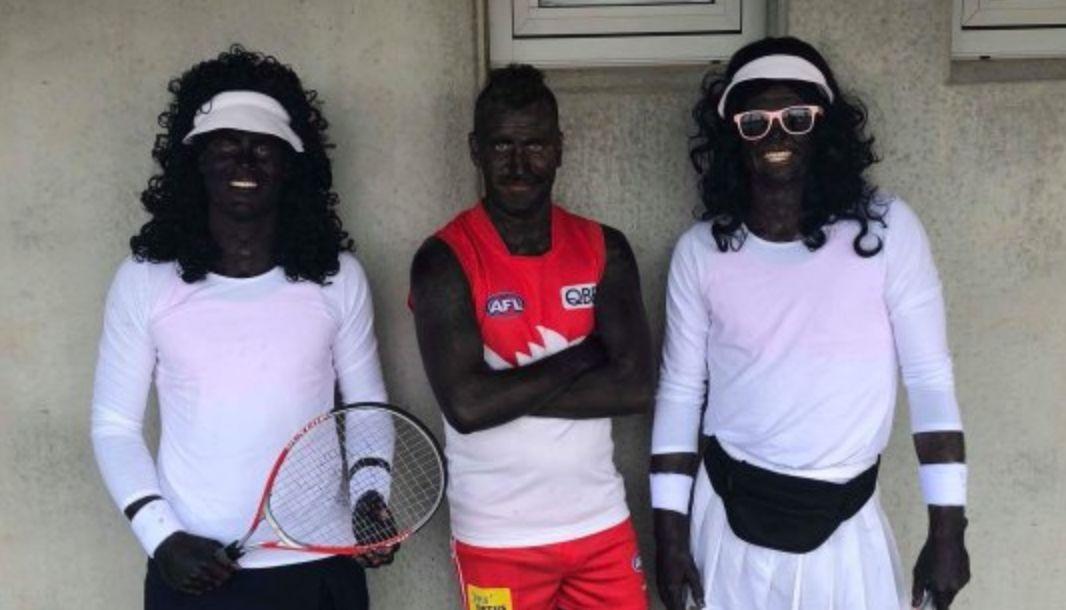 Australian Football Players Don Blackface, Dress Up As Venus And Serena