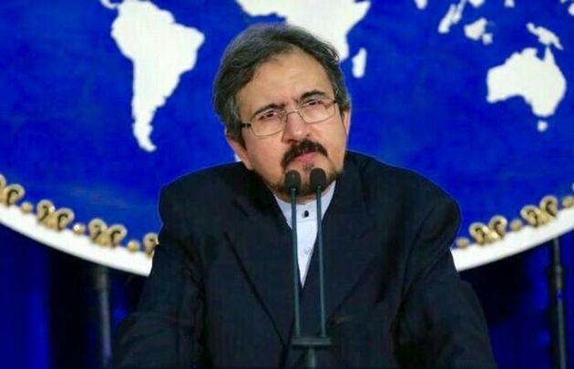 Le porte-parole du ministère iranien des Affaires étrangères, Bahram