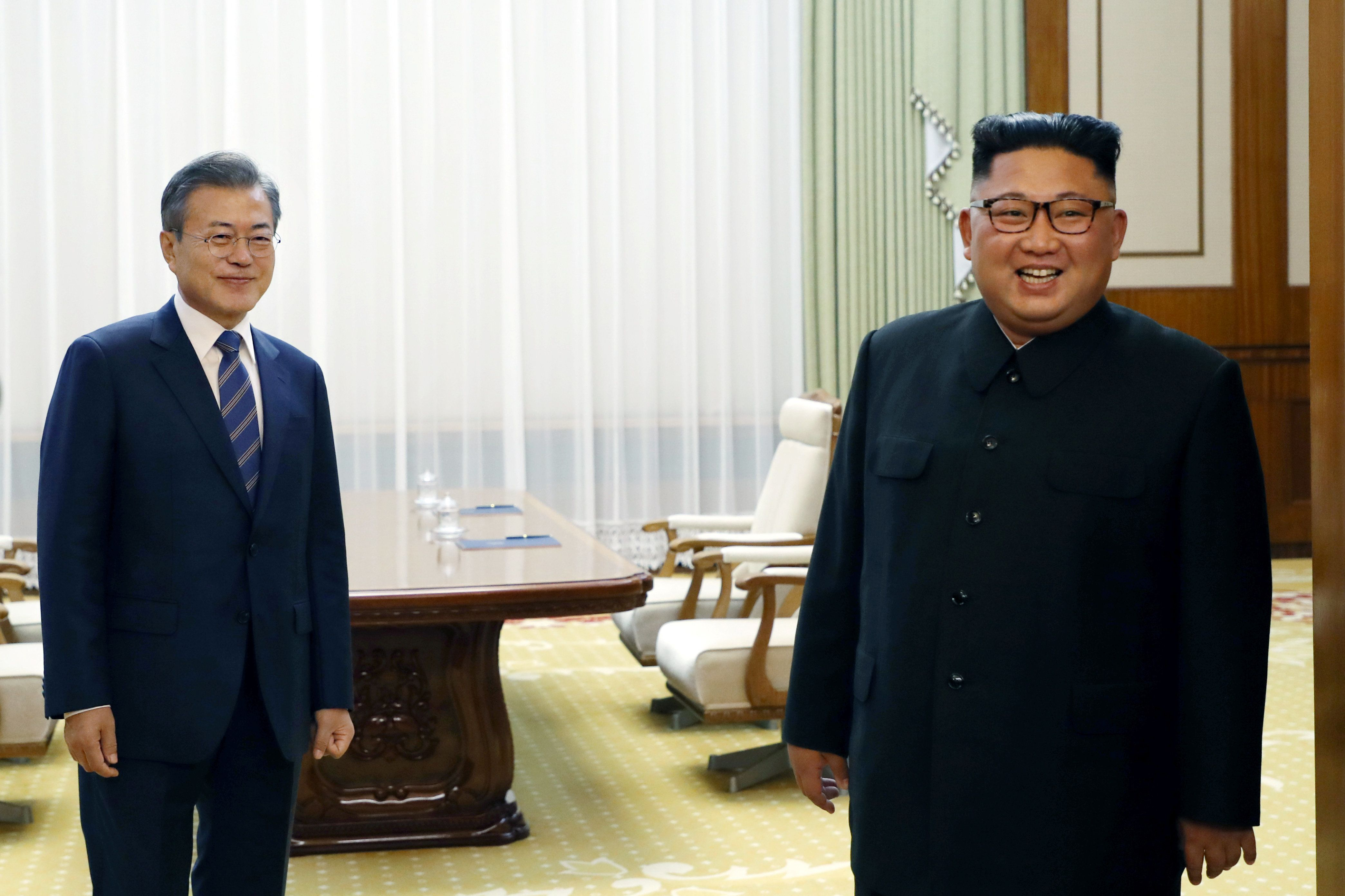 """″다 반대했다고 하더라"""" : 문정인 특보가 전한 '김정은 서울 방문' 성사"""