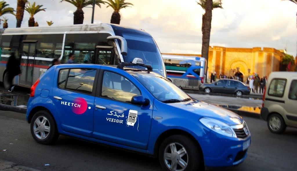 VTC: L'application de transport Heetch se met au bleu de