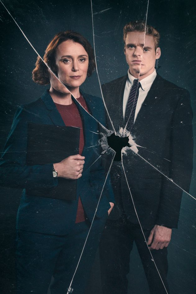 Keeley Hawes and Richard Madden in