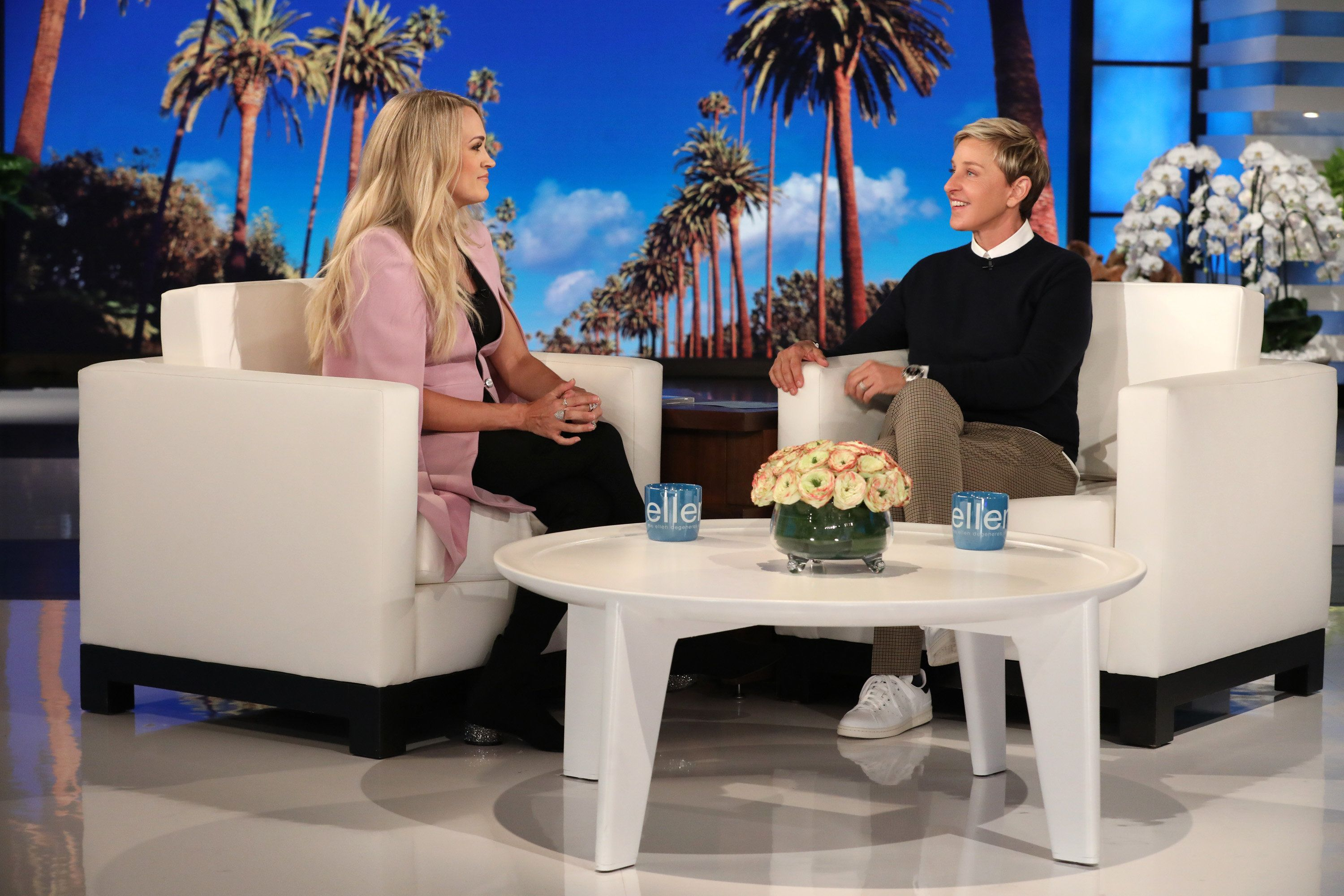 Carrie Underwood Tells Ellen DeGeneres Why She Went Public About Her