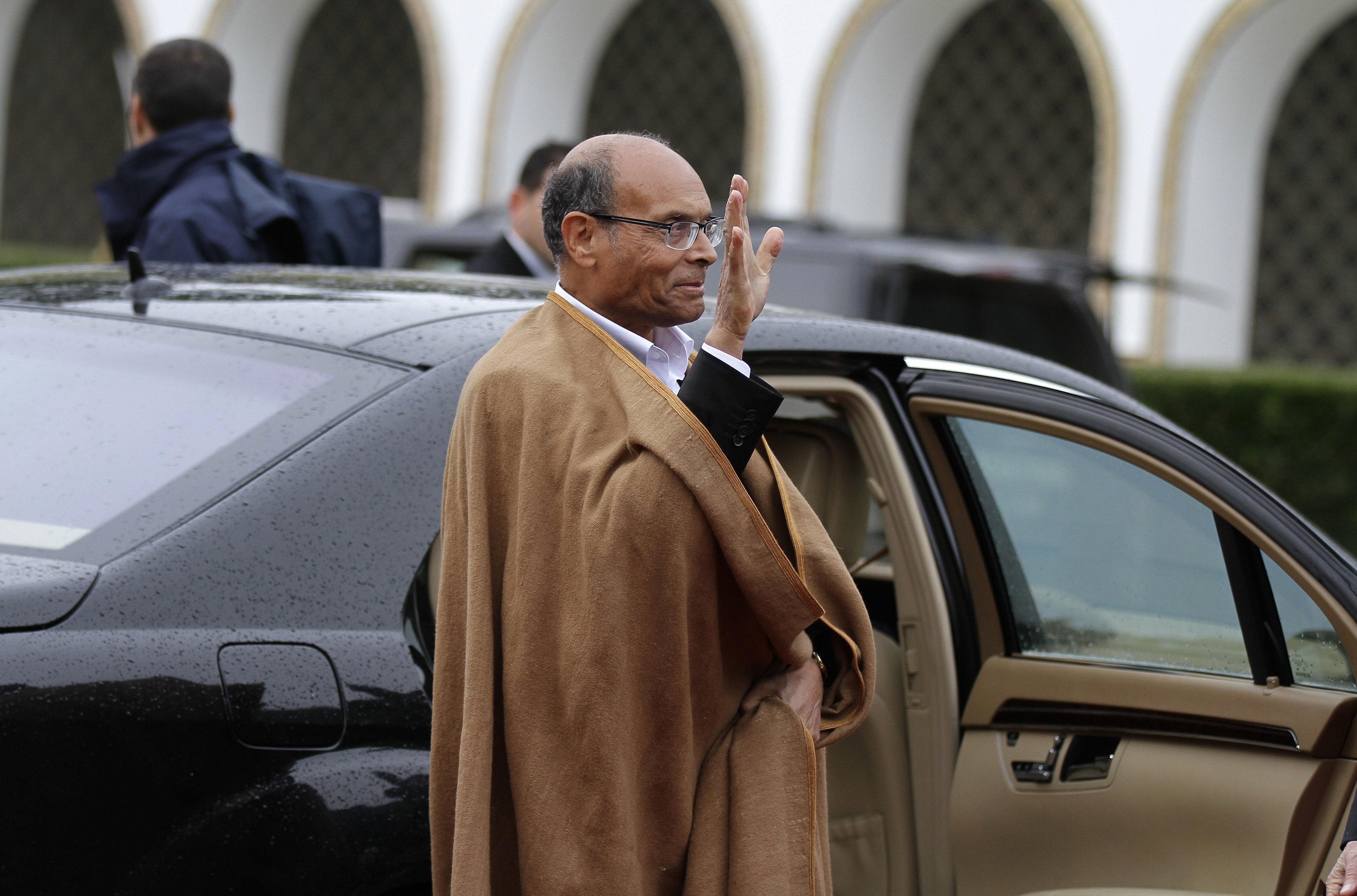 Le comportement de Moncef Marzouki mis en cause: 80 cadres et responsables du parti Harak Tounes Al-Irada