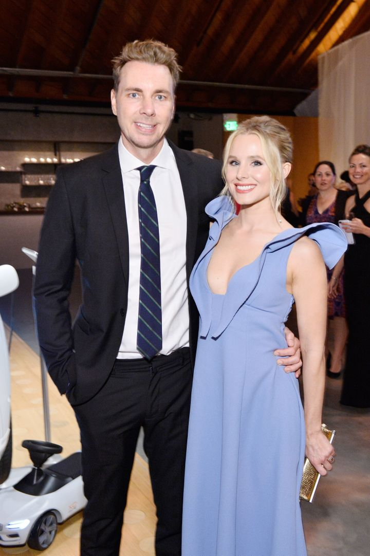 Dax Shepard and Kristen Bell attend The 2017 Baby2Baby Gala.