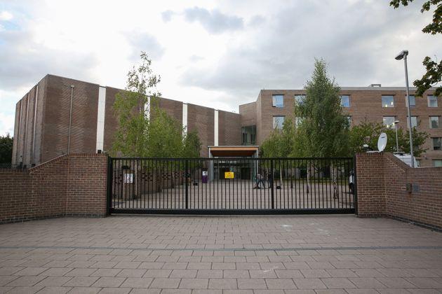 William Perkin C of E High School, Greenford, west London, where Karan Cheema was a