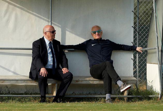Ο Πρόεδρος και ο προπονητής...