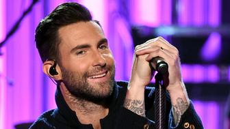 LOS ANGELES, CA - NOVEMBER 20:  Singer Adam Levine of Maroon 5 performs onstage during the 2016 American Music Awards at Microsoft Theater on November 20, 2016 in Los Angeles, California.  (Photo by Kevin Winter/Getty Images)