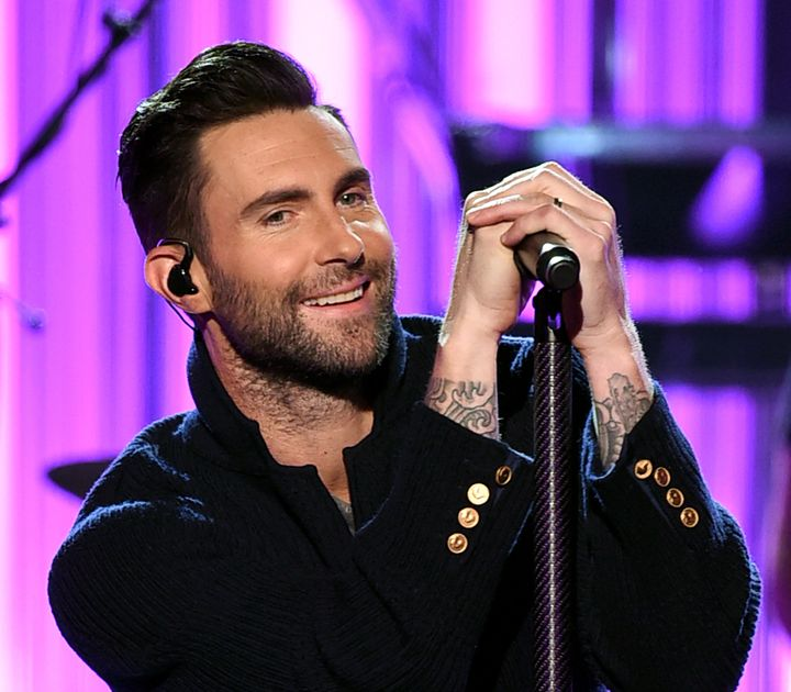 Singer Adam Levine of Maroon 5 performs onstage during the 2016 American Music Awards.