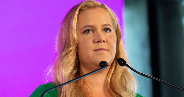 Amy Schumer sent a message to men who joke about sexual assault.